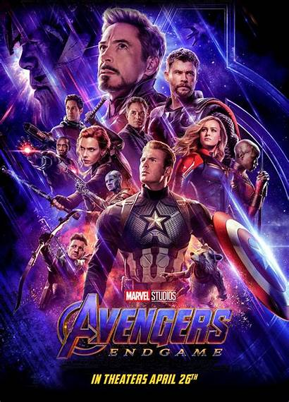 Endgame Avengers Poster Animated Myconfinedspace Send