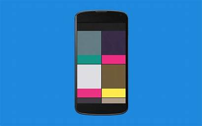 App Android Material Animation Styles Different Using