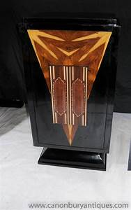 Art Deco Lacquer Cocktail Drinks Cabinet 1920s Furniture ...