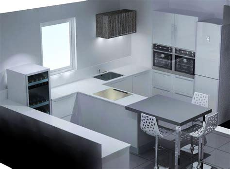 meuble cuisine pour four et micro onde meuble ilot central cuisine 7 colonnes pour four et