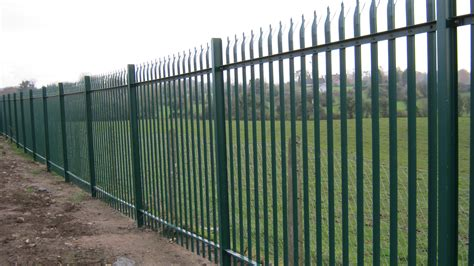 palisade fencing frs fencing