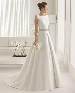 Brautkleid Vintage Schlicht : schlicht einfach aber dennoch ein elegantes brautkleid ~ Watch28wear.com Haus und Dekorationen