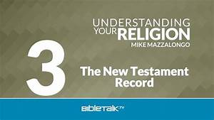 The New Testament Record: The Doctrine of Inspiration ...