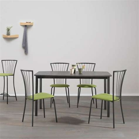 table de cuisine contemporaine table de cuisine contemporaine en m 233 lamin 233 et m 233 tal