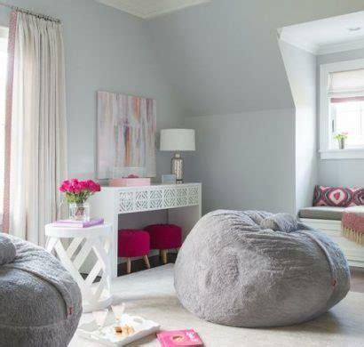 pouf pour chambre d ado idées déco pour une chambre ado fille design et moderne