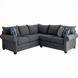 Bassett alex 2 pc sectional sofas couches home for Sectional sofas bassett