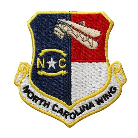 civil air patrol north carolina wing patch  hook vanguard