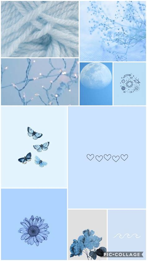 baby blue aesthetic wallpaper blue background wallpapers