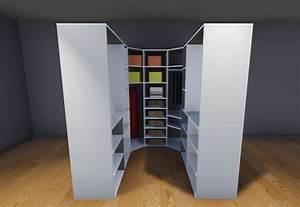 Faire Dressing Dans Une Chambre : plan de dressing ~ Premium-room.com Idées de Décoration