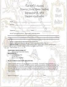 Craft Show Vendor Application Form