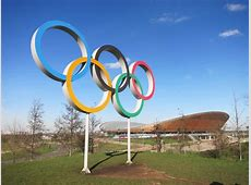 Olympic Rings and Velodrome © Des Blenkinsopp Geograph