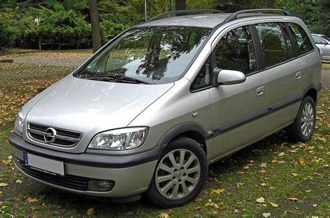 Opel Zafira by Opel Zafira Wolna Encyklopedia