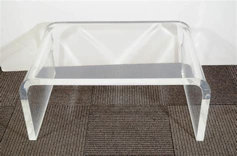 Stunning Small Acrylic Lucite Coffee Table Ikea With Table