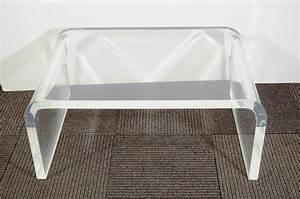amazing lucite coffee table ikea homesfeed With small clear coffee table