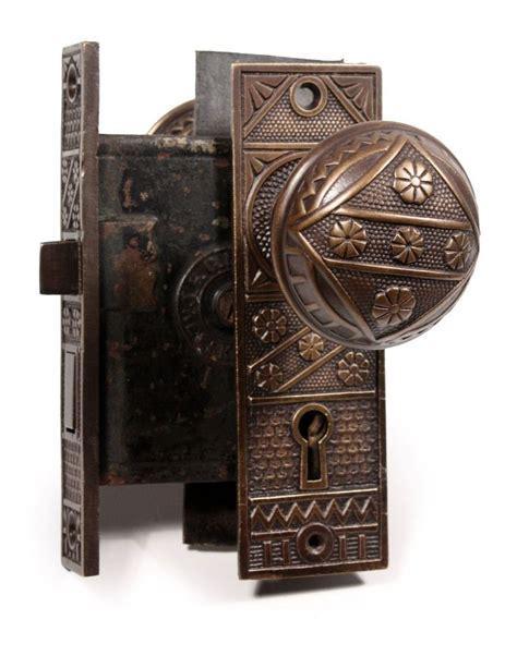 Door Knobs Sydney Vintage by Three Matching Antique Door Hardware Sets By F C Linde