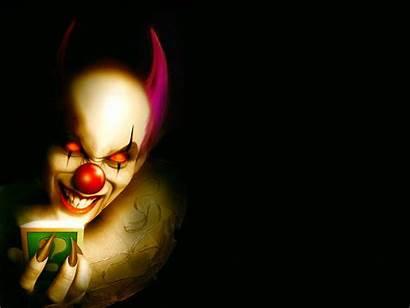 Clown Scary Skull Wallpapers Evil Face Desktop