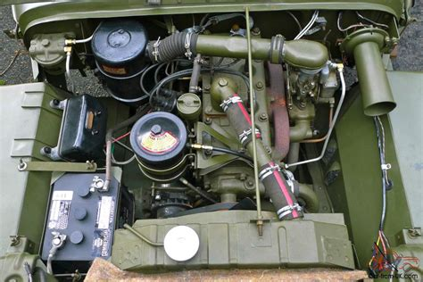 1945 Willys Mb Wwii Military Jeep Fully Restored No