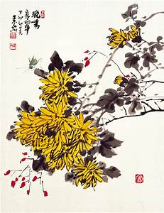 1000+ images about 사군자 on Pinterest Ink paintings