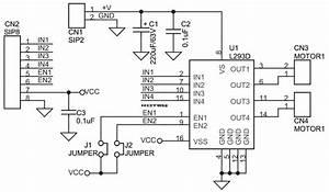 L293d Dc Motor Driver Module