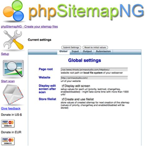 Php Sitemap Generator Stuffthatspins