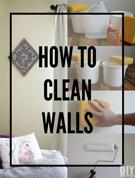 How To Clean Walls  Preparing Walls For Painting