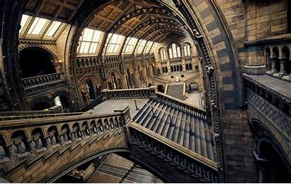 Museum History London Natural Interior Stairs Building