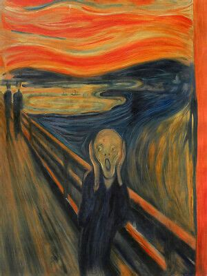original scream painting edvard munch reproduction