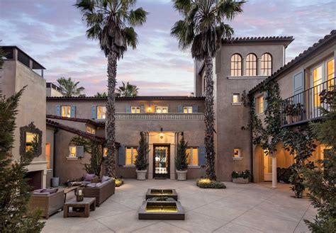 Spacious courtyard