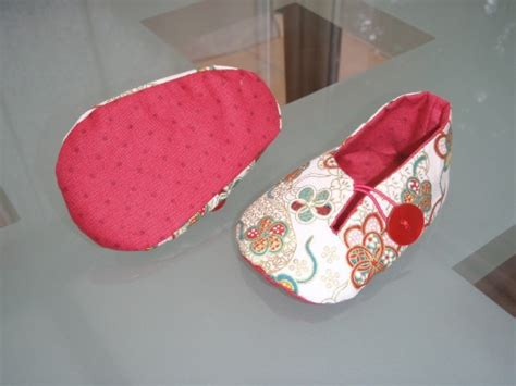 tuto couture chaussons b 233 b 233 patron layette