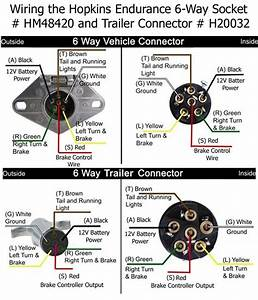 How To Rewire Trailer For 6 Way Connection With Separate