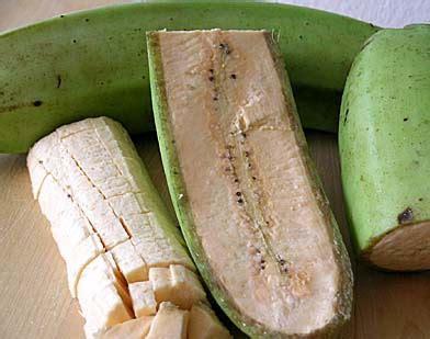 cuisiner des bananes plantain ls