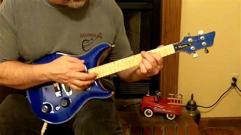 mann seu  electric tenor ukulele youtube