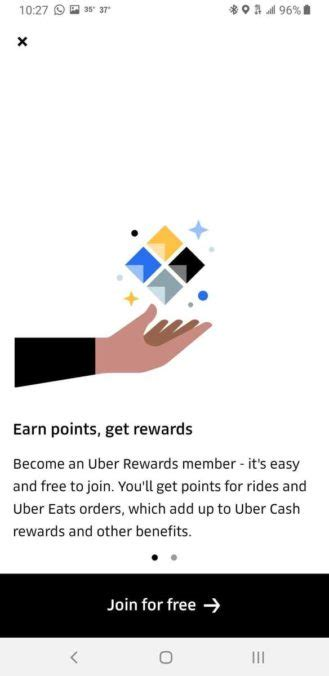 uber rewards loyalty program rolls out to all us riders