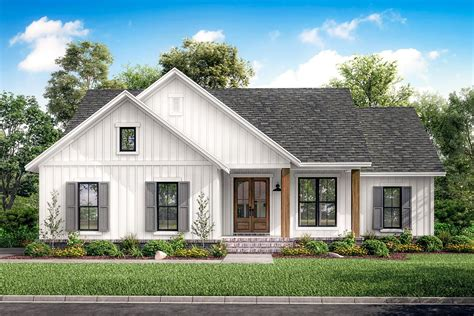bed  american ranch home plan hz architectural designs house plans