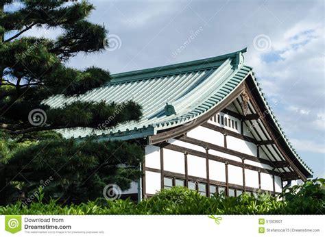 Casa Tradizionale Giapponese In Un Parco Di Tokyo