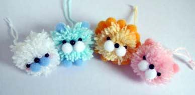 yarn pom poms  diys guide patterns