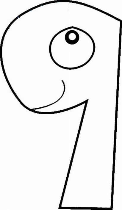 Number Coloring Worksheets Printable Preschool Numbers Crafts