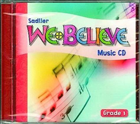 We Believe Catholic Identity Edition, 16 Grade 1, Music Cd  Communication Center