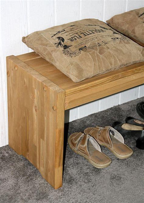 Sitzbank Flur Kiefer by Massivholz Sitzbank 160cm Kiefer Gelaugt Ge 246 Lt Holz Bett