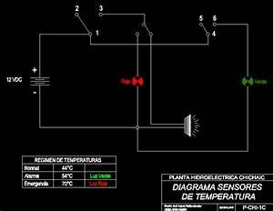 Diagram Of Temperature Sensors In Autocad