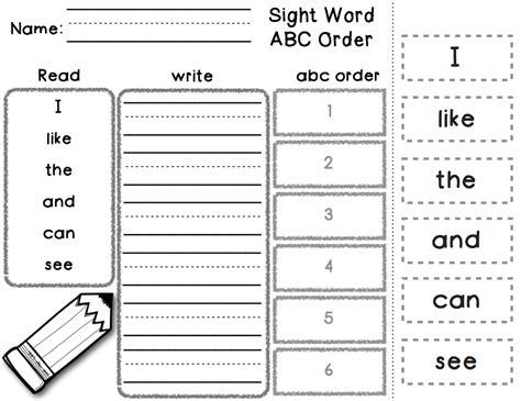 happy kindergarten with phonics word work style