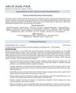 HR Resume Summary Statement Examples