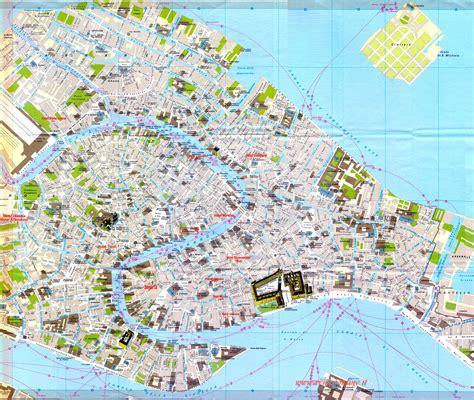 venice street map venice italy mappery
