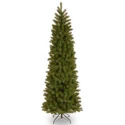 home accents holiday 7 ft unlit downswept douglas fir slim artificial christmas tree pedd4 527