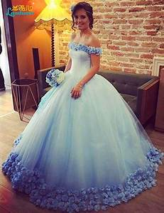 Aliexpresscom buy light blue wedding dresses 2017 ball for Aliexpress wedding dresses 2017
