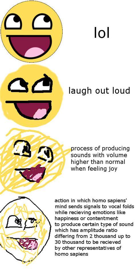Laugh Out Loud Meme - laugh out loud increasingly verbose memes know your meme
