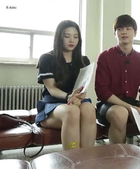 플래시24 움짤 우결 레드벨벳 조이 허벅지