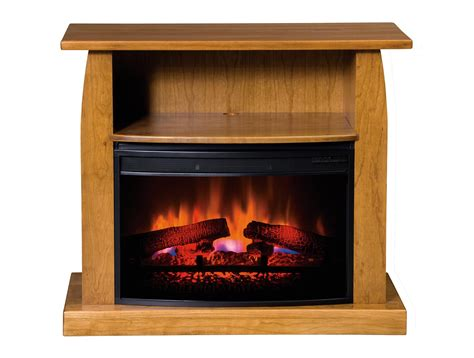 Amish Made Electric Fireplace Superior Amish Made