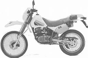 Suzuki Dr200  Dr200s 1985