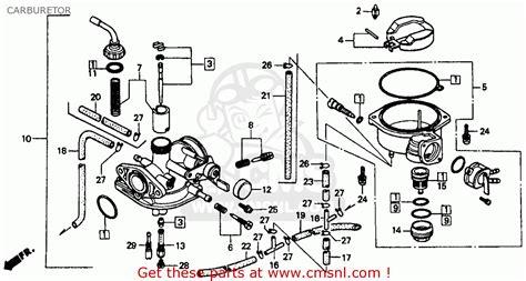honda xr80 carburetor adjustment cars modified dur